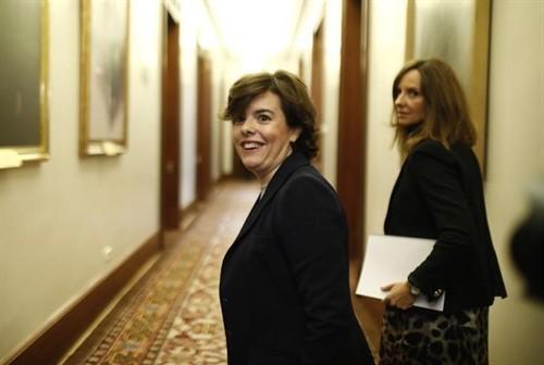 Sáenz de Santamaría ficha por el despacho de abogados Cuatrecasas.