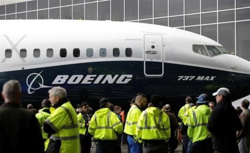 Imagen de un 737 max