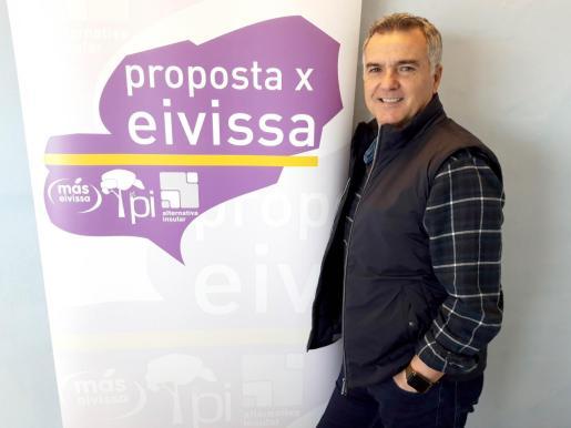 Toni Roldán es el candidato de PxE al ayuntamiento de Vila
