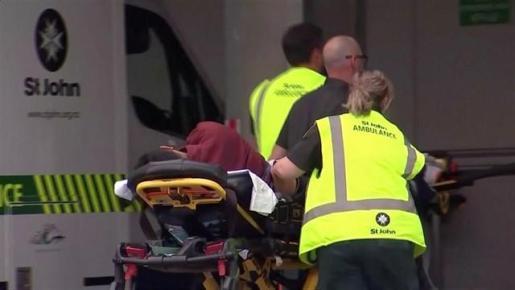 Al menos 40 muertos y 20 heridos en los atentados contra dos mezquitas en Nueva Zelanda.
