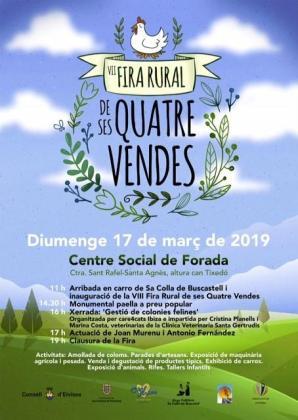 Este domingo vuelven las tradiciones con la séptima Fira de ses Quatre Véndes.
