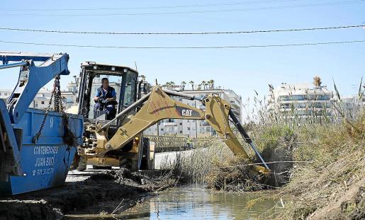 Limpieza y dragado del canal