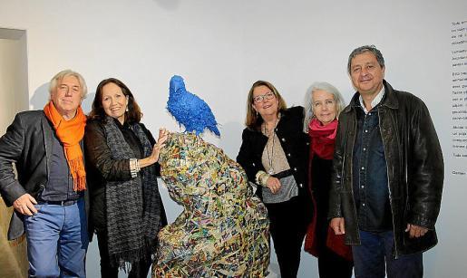 Damià Ramis, Patricia Estrada, Mar Aldeguer, Asunción Clar y Carlos Jover.