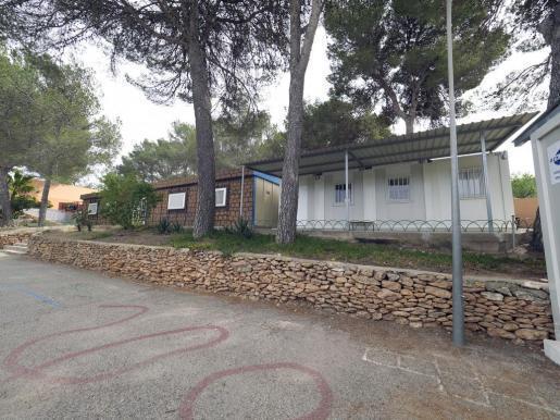 Patio del CEIP Sant Carles.