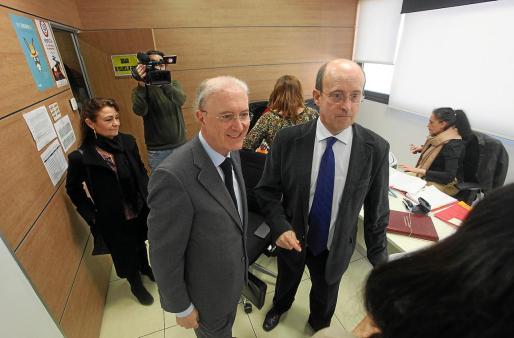 El presidente del TSJIB visitó el pasado 26 de febrero las instalaciones y pudo tomar nota de las limitaciones.