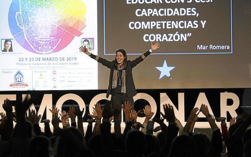 La Clausura con las conferencias de María del Mar Romera y Manuel Velasco se celebraron en el Palau de Congressos.