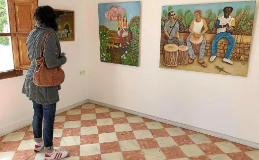 La exposición a la que pertenecen estos cuadros se podrá ver en la sala de exposiciones de Sant Francesc hasta el próximo 30 de marzo.