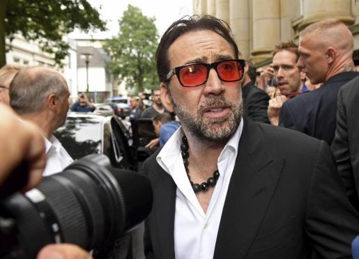 El actor Nicolas Cage pide el divorcio a su pareja cuatro días después del enlace.