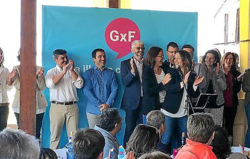 Acto de presentación de las listas de GxF