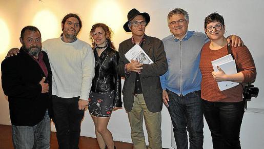 Tomeu Ripoll, Emili Sànchez-Rubio, Raquel Gelabert, Vicenç Altaio, Antoni Rodríguez y Antònia Monroig.