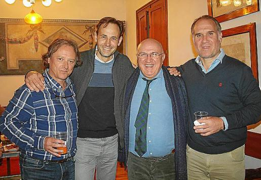 Juan Gabriel Valls, Magí Marqués, Jamil Missaghian y Vicente Daza.