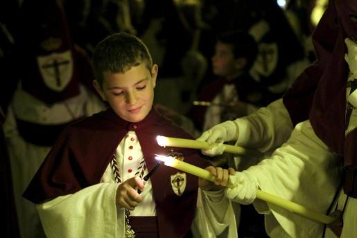 Procesión del lunes santo en Palma.