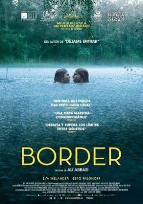 Carátula de la película sueca 'Border'.