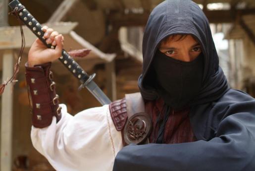 Fotograma de la serie de TVE 'Águila Roja'.