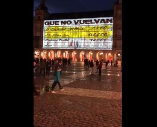 Captura de imagen del vídeo.