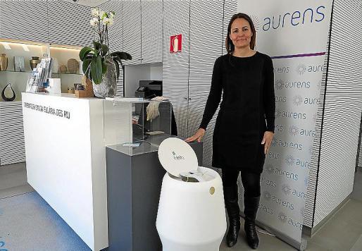 Mónica Miranda, gerente del tanatorio-crematorio Aurens.