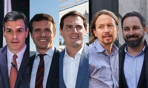 Pedro Sánchez rechaza el 'cara a cara' con Casado y acepta un debate a cinco el 23 de abril.