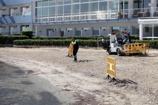 La parte de la playa que permanecía precintada ya se ha abierto a los bañistas