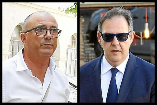 A la izquierda, Miguel Ángel Subirán, a la derecha, Manuel Penalva.
