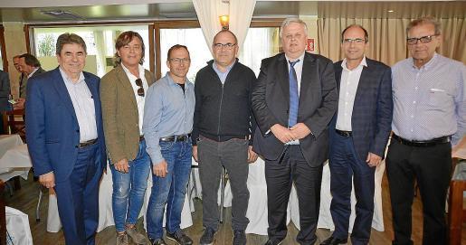 Toni Sansó, Rafel Nadal, Rafel Binimelis, Jaume Adrover, Rafel Roig, Toni Bauçà y Miquel Cabrer.