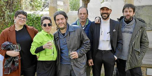 Antònia Monroig, Laia Martínez, Emili Sánchez, Josep Barceló, Damià Rotger y Miquel Simonet.