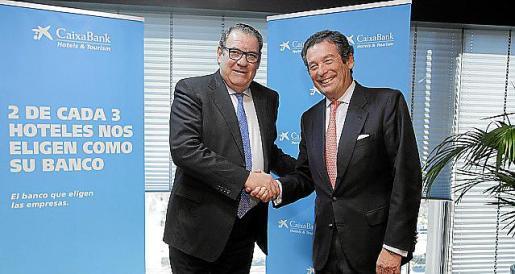Juan Molas (CEHAT) y Luis Cabanas (CaixaBank).