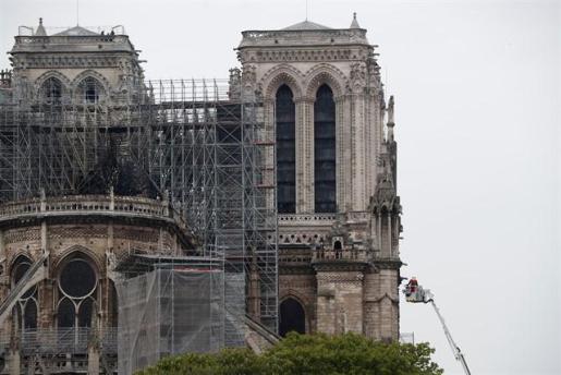 Imagen de la catedral de Notre Dame.