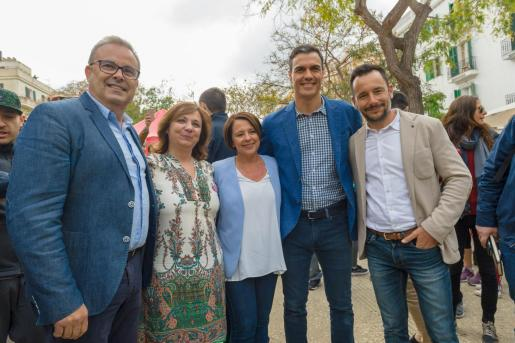Visita de Pedro Sánchez el miércoles 17 de abril.