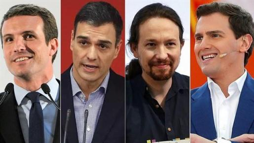 Los diferentes candidatos participarán en el debate de RTVE