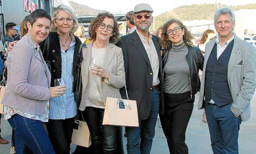 Carmen Sanz, Patricia y Antonia Reus, Karim Gaafar, Carmen Molano y Alejandro Maciá.