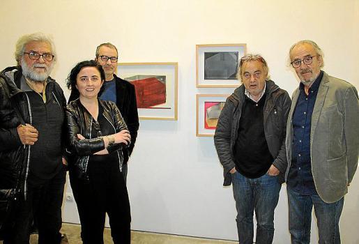 Tomeu Ventanyol, Bel Font, Joan Cortés, Pep Coll y Ramon Canet.
