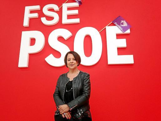 La actual diputada del PSOE en el Congreso aspira a revalidar el puesto este domingo.