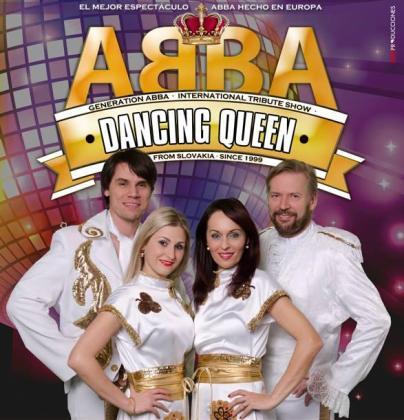 Cartel del Tributo a ABBA en el Auditórium de Palma.