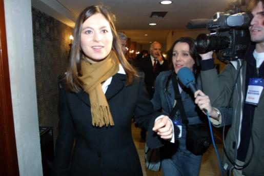 Chabeli Iglesias, en imagen de archivo, durante una estancia en Mallorca.