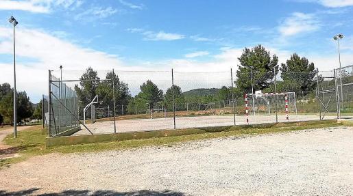 Imagen de las pistas deportivas de la localidad.