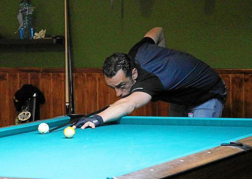 Albert Casellas, en acción durante el duelo contra Montejo.