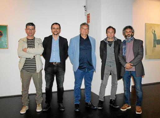 Antoni Garreta, Llorenç Carrió, Joan Vallespir, Marcos Vidal y Manel Santana.
