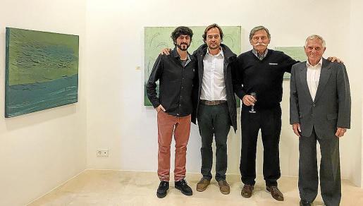 Pol Font, Toni Caldentey, Tomeu Caldentey y Biel Oliver.