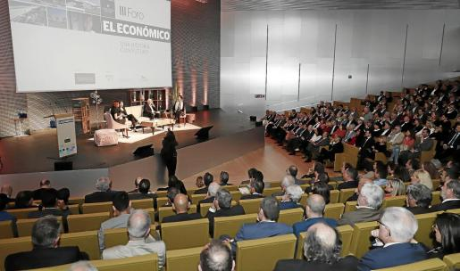 El Foro de El Económico reunió a más de 400 personas en el Palau de Congressos de Palma. Foto morey