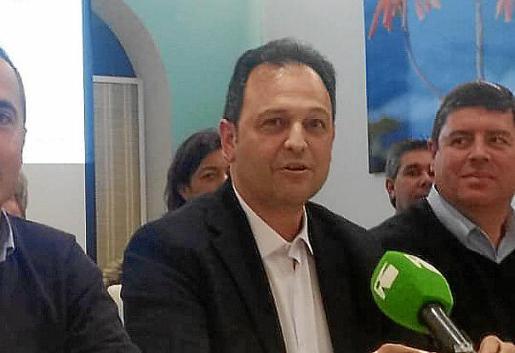 El candidato de Sa Unió, Llorenç Córdoba.