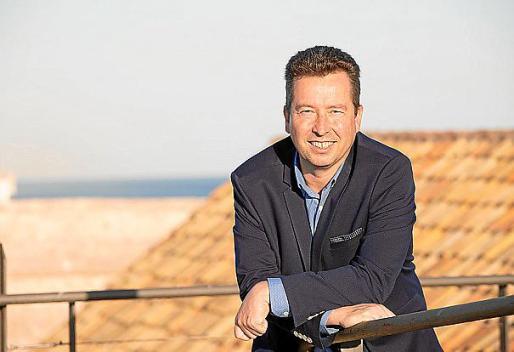 El candidato al Consell por Ara Eivissa, Arnau Mañas.