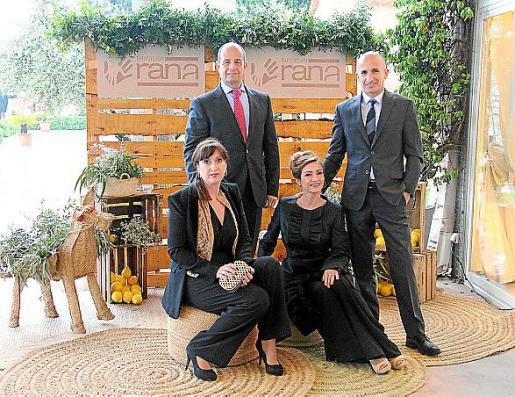 Paula Fernández, Marc Ponseti, Joana Maria Gelabert y Tomeu Ferrer.
