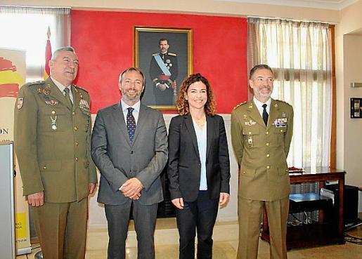 Juan Cifuentes, José Luis Camps, Rosario Sánchez y Jesús Lanza.