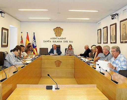 La firma de los convenios con las diferentes entidades sociales tuvo lugar ayer en el Ayuntamiento.