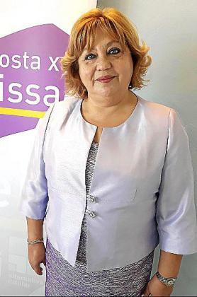 Encarna Castro, candidata de Proposta per Eivissa (PxE) al Consell d?Eivissa,