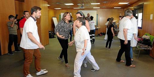 Imagen del curso para profesionales sanitarios que se celebró ayer en Ibiza.