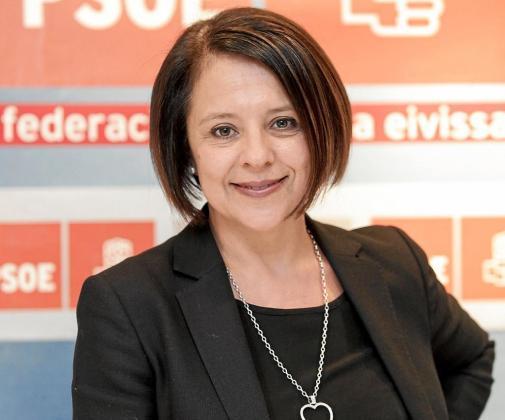 Sofía Hernanz en una foto de campaña.