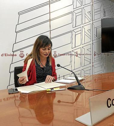 La consellera de Benestar Social, Lydia Jurado.