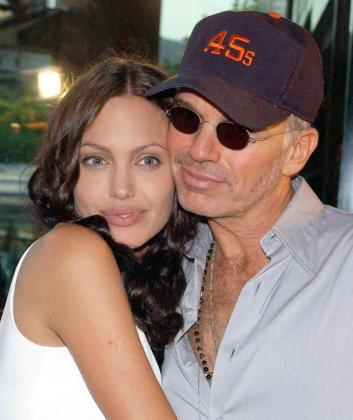 Angelina Jolie y Billy Bob Thornton, en una fotografia de cuando estuvieron casado.