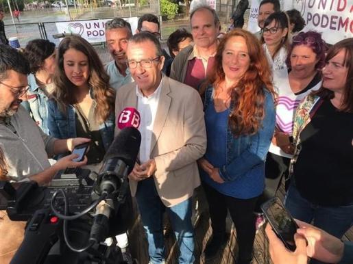 El candidato de Unidas Podemos al Govern, Juan Pedro Yllanes, ha anunciado en Ibiza que promoverán la adquisición de 6.000 viviendas de protección oficial en todo el archipiélago.